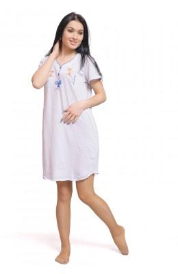 Сорочка с рукавами - Горох с ВШ 16.170_S